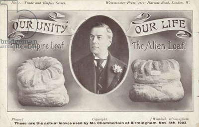 The Empire Loaf and the Alien Loaf, c1903 (litho)