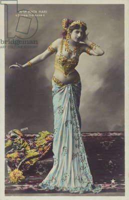 Mata Hari (coloured photo)