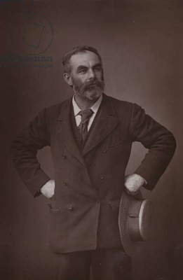 John Burns, English trade unionist and politician (b/w photo)