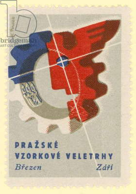 Prague Trade Fair (colour litho)