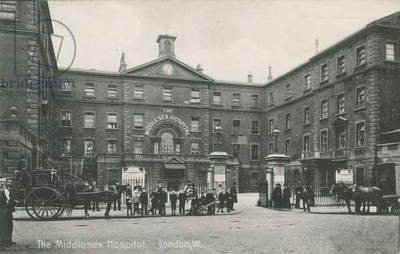 The Middlesex Hospital, London, 1910 (photo)