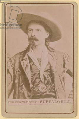 William F Cody, Buffalo Bill (photo)