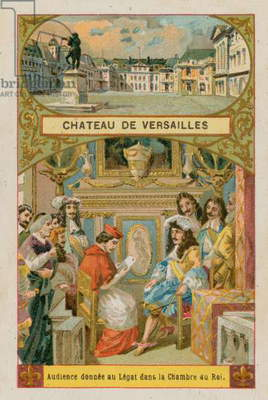 Palace of Versailles (chromolitho)