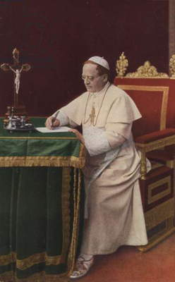 Pope Pius XII (colour photo)