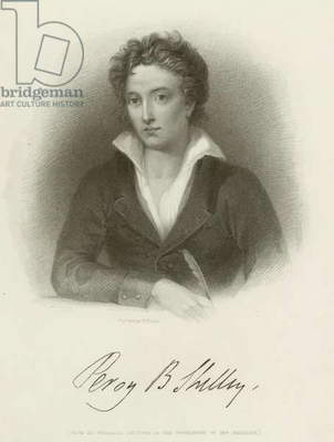 Percy Bysshe Shelley (engraving)