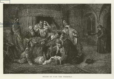 Death of Ivan the Terrible (engraving)