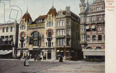 Rembrandt Theatre, Amsterdam (coloured photo)