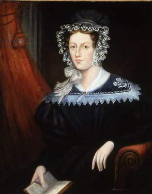 Mrs Ann Jane Carlisle, c.1828-32 (oil on canvas)