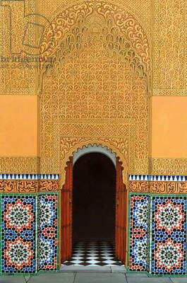 Door, Marrakech, 1998 (acrylic on linen)