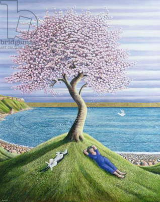 Dreaming of Cherry Blossom, 2004 (oil on canvas)