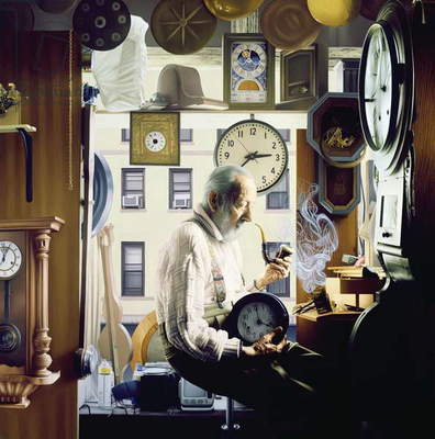 Time, 2006 (oil on panel)