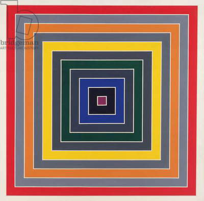 Gray Scramble (single), 1969 (acrylic on canvas)