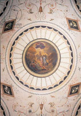 Room with Jacob's Dream, ceiling, (fresco)
