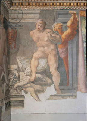 Naked Man, 1550 (fresco)