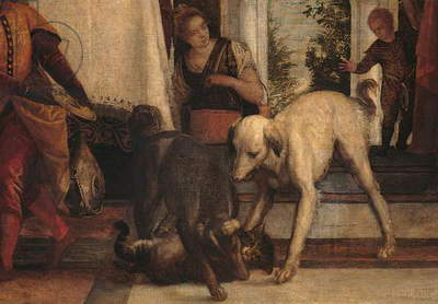 Dinner at the House of Simon (Cena in casa di Simone), by Paolo Caliari known as Veronese, 1570, 16th Century, oil on canvas, 710 x 275 cm