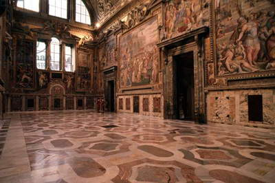 Royal Room of the Apostolic Palace, Holy See (Vatican City State), 2000 (photo)
