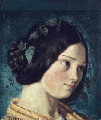 Zelie Courbet, by Gustave Courbet, Ca. 1842, 19th Century, oil on canvas, 63,5 x 53 cm