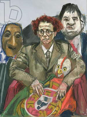 The Young Republic, 2005 (pastel on paper)