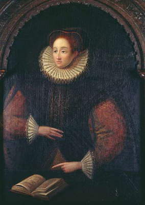 Portrait of a Lady believed to be Elizabeth I (1533-1603), c.1580 (oil on panel)