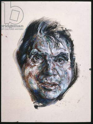 Head of Francis Bacon, 1985 (oil on canvas)
