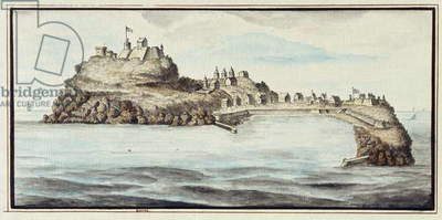 Goree, Senegal, 1815 (ink and wash on watermarked paper)
