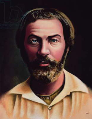 Young Walt Whitman (1819-91) 2005 (pastel on paper)