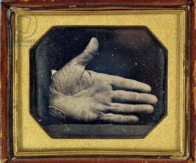 The Branded Hand, c.1845 (daguerreotype)