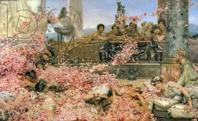 Roses of Heliogabalus, 1888 (oil on canvas)