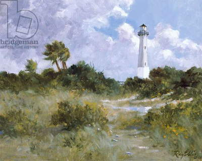 Squall Over Tybee, 2001 (oil on linen)