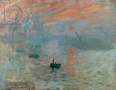 Impression: Sunrise, 1872 (oil on canvas)