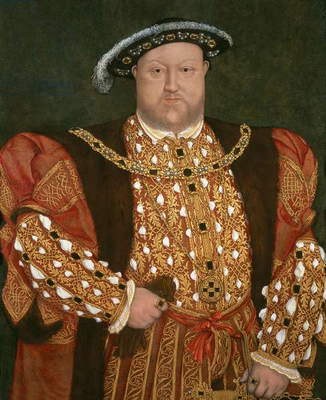Portrait of Henry VIII, c.1540 (oil on panel)