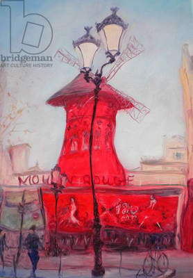 Moulin Rouge, 2010 (oil on canvas)