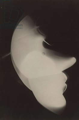 Photogram Self-Portrait, 1926 (gelatin silver print)