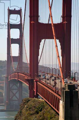 The Golden Gate Bridge in San Francisco, California (photo)