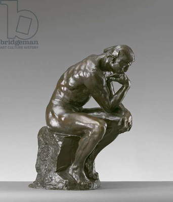 The Thinker, 1884 (bronze)