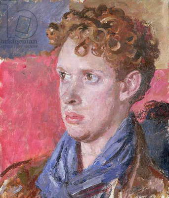 Dylan Thomas (1914-53), c.1937-38 (oil on canvas)