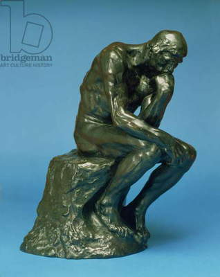 The Thinker, 1880 (bronze) (see also 158431)