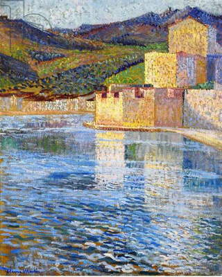 The Ramparts of Collioure, c.1915 (oil on canvas)