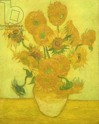 Sunflowers, 1889 (oil on canvas)