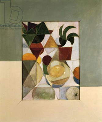 Still Life with Apples, 1916 (oil on canvas)