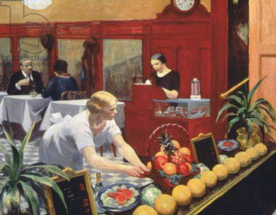 Tables for Ladies, 1930 (oil on canvas)