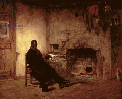 Thoughts of Liberia: Emancipation, 1861 (oil on canvas)