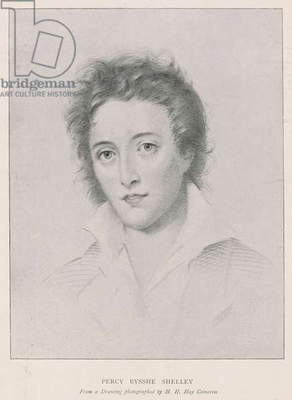 Percy Bysshe Shelley (litho)
