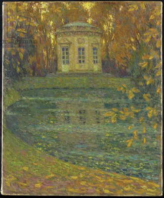 The Belvedere at Trianon, Versailles, 1915 (oil on canvas)