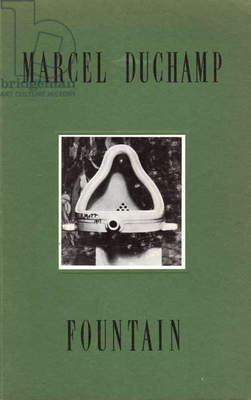Fountain by Marcel Duchamp, 1917, with introduction by Walter Hops, published by Houston Fine Art Press, 1989 (colour litho)