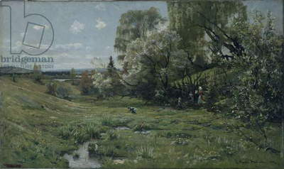 Spring, 1885 (oil on canvas)