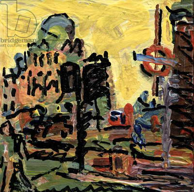Camden Palace, 2000 (oil on board)