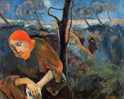 The Agony in the Garden of Olives, 1889 (oil on canvas)