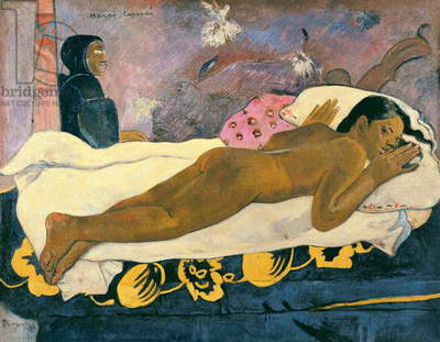 Manao Tupapau (The Spirit of the Dead Watches), 1892 (oil on canvas)
