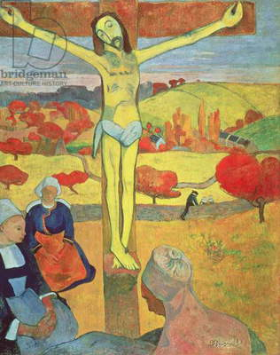 Yellow Christ, 1889 (oil on canvas)